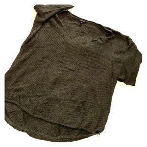 🖤 💚 EUC Express slouchy sweater Sz M